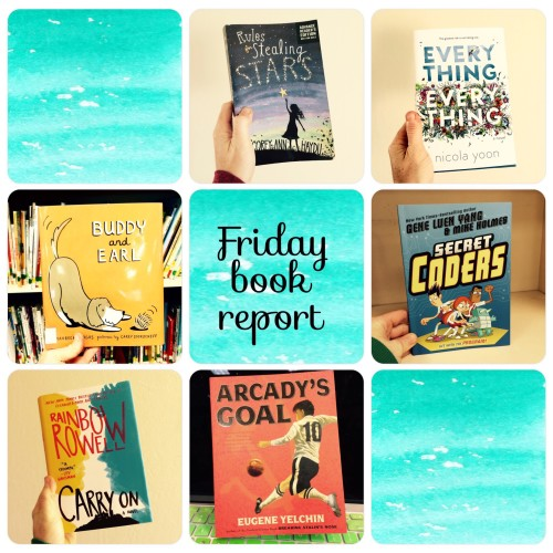 Friday Book Report 15