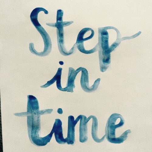 Sunday Song Journal #1: Step in Time
