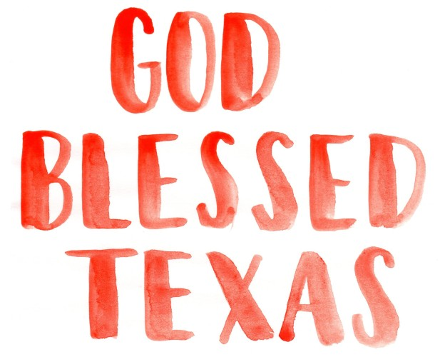 Sunday Song Journal #3: God Blessed Texas